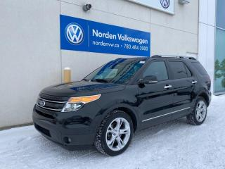 Used 2013 Ford Explorer LIMITED 4WD - LEATHER / SUNROOF / NAVI for sale in Edmonton, AB