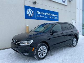 Used 2018 Volkswagen Tiguan TRENDLINE W/ CONVENIENCE PKG / VW CERTIFIED for sale in Edmonton, AB