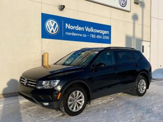 Used 2018 Volkswagen Tiguan TRENDLINE W/ CONVENIENCE PKG + 3RD ROW / VW CERTIFIED for sale in Edmonton, AB