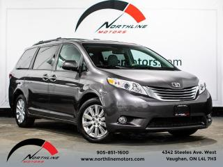 Used 2012 Toyota Sienna Limited AWD/7 Passenger/DVD/Navi/Leather for sale in Vaughan, ON