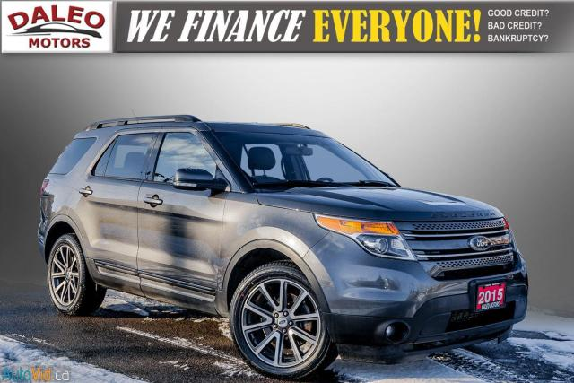 2015 Ford Explorer XLT / 7 PASSENGERS / PANO ROOF / NAVI / Photo1
