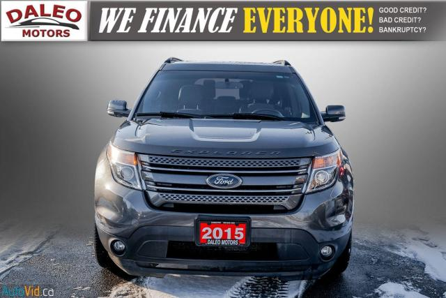 2015 Ford Explorer XLT / 7 PASSENGERS / PANO ROOF / NAVI / Photo3