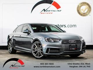 Used 2017 Audi A4 Progressiv/S-Line/Navigation/Camera for sale in Vaughan, ON