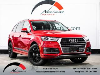 Used 2018 Audi Q7 Progressiv/7 Passenger/Navigation/Blindspot for sale in Vaughan, ON