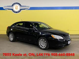 Used 2013 Chrysler 200 Only 93K km, 2 Years Unlimited Km Warranty for sale in Vaughan, ON