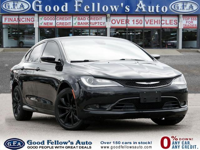 2015 Chrysler 200 LEATHER & CLOTH, POWER SEATS, BLUETOOTH, ALLOY