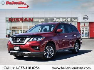 Used 2019 Nissan Pathfinder SV Tech 1 OWNER HEATED SEATS, NAVIGATION for sale in Belleville, ON