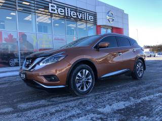 Used 2018 Nissan Murano SL AWD LEATHER, SUNROOF, NAVIGATION, 1 OWNER for sale in Belleville, ON