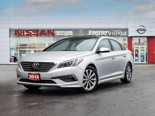 Used 2016 Hyundai Sonata 2.4L Limited TECH ,NAVIGATION,SUNROOF,COOLED SEATS for sale in Belleville, ON