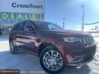 New 2021 Jeep Grand Cherokee Summit for sale in Calgary, AB