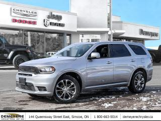 Used 2020 Dodge Durango GT   SUNROOF   LEATHER   APPLE CAR PLAY for sale in Simcoe, ON