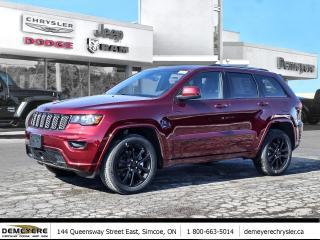 New 2021 Jeep Grand Cherokee ALTITUDE | SUNROOF | PLUS $750 BONUS CASH OFF for sale in Simcoe, ON