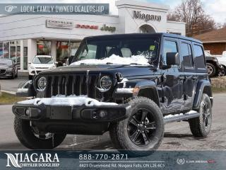 New 2021 Jeep Wrangler Unlimited Sahara Altitude for sale in Niagara Falls, ON