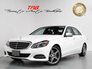 Used 2014 Mercedes-Benz E-Class E350 AMG I PANO I NAVI I CLEAN CARFAX for sale in Vaughan, ON