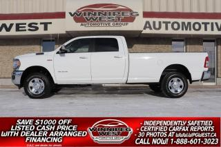 Used 2019 Dodge Ram 3500 BIG HORN 6.4L HEMI 4X4, P. SEAT, 8FT BOX, AS NEW! for sale in Headingley, MB