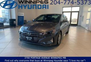Used 2019 Hyundai Elantra Preferred for sale in Winnipeg, MB