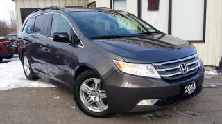 Used 2013 Honda Odyssey Touring - LEATHER! NAV! BACK-UP CAM! BSM! DVD! for sale in Kitchener, ON
