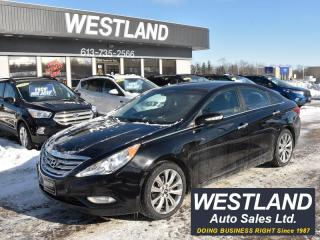 Used 2013 Hyundai Sonata LIMITED for sale in Pembroke, ON