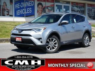 Used 2017 Toyota RAV4 Sport  NAV CAM ROOF LEATH HTD-S/W 18-AL for sale in St. Catharines, ON