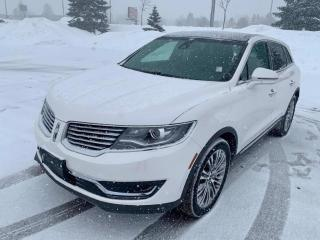 Used 2016 Lincoln MKX Reserve | AWD | NAVI | SUNROOF | BACKUP CAM | for sale in Barrie, ON