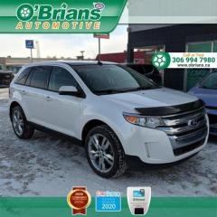 Used 2013 Ford Edge SEL w/AWD, Leather, Backup Camera, Cruise for sale in Saskatoon, SK
