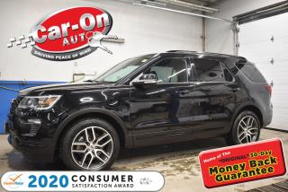 Used 2018 Ford Explorer SPORT | 365HP 3.5L Ecoboost | EVERY POSSIBLE OPTIO for sale in Ottawa, ON