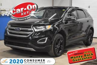 Used 2017 Ford Edge SEL V6 AWD  LEATHER   PANO ROOF   NAVIGATION for sale in Ottawa, ON