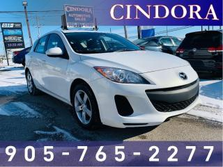 Used 2013 Mazda MAZDA3 GX sport hatchback, Auto, Alloy Rims, Clean Carfax for sale in Caledonia, ON