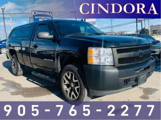 Used 2012 Chevrolet Silverado 1500 1500 Reg Cab, w/ ARE Cap, Long Box for sale in Caledonia, ON