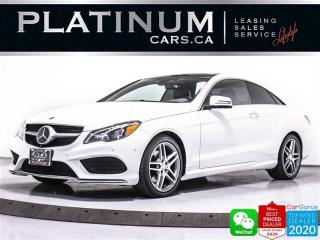 Used 2016 Mercedes-Benz E-Class E400 4MATIC, DISTRONIC PLUS, AMG PKG, PANO, CAM for sale in Toronto, ON