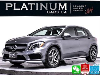 Used 2016 Mercedes-Benz GLA AMG GLA45 4MATIC, 375HP, CAM, HEATED,SPORT EXHAUS for sale in Toronto, ON