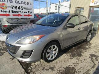 Used 2010 Mazda MAZDA3 Berline 4 portes, boîte manuelle, GX for sale in Montréal, QC