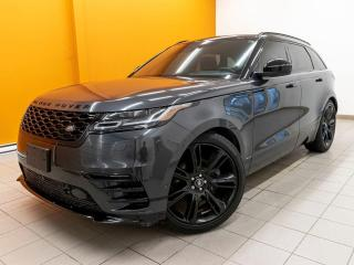 Used 2018 Land Rover Range Rover Velar R-DYNAMIC HSE P380 AWD *NAVI* CONDUITE PRO *PROMO for sale in St-Jérôme, QC