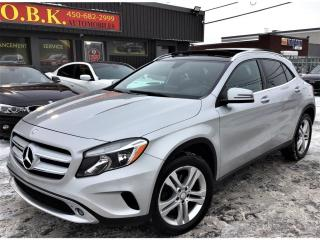 Used 2017 Mercedes-Benz GLA 4MATIC-GLA 250-TOIT PANO-CAMERA RECUL-BLUETOOTH for sale in Laval, QC