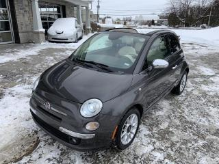Used 2014 Fiat 500 C Décapotable 2 portes Lounge for sale in St-Eustache, QC