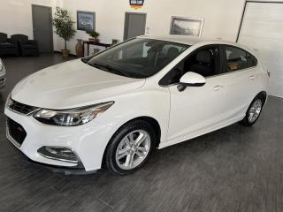 Used 2017 Chevrolet Cruze 4dr HB 1.4L RS  LT w-1SD CAMERA  42708 KMS for sale in Châteauguay, QC