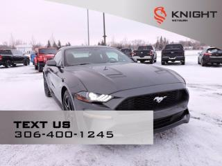 Used 2019 Ford Mustang EcoBoost | Remote Start | B/U Camera | Nav | Rear Park Sensors | Power Seats for sale in Weyburn, SK