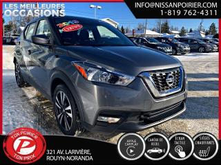 Used 2019 Nissan Kicks SV ( frais vip 395$ non inclus) for sale in Rouyn-Noranda, QC