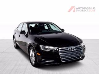 Used 2017 Audi A4 KOMFORT QUATTRO CUIR TOIT MAGS GROS ECRAN for sale in Île-Perrot, QC