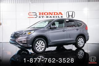 Used 2016 Honda CR-V SE + AWD + A/C + CAMERA + MAGS + WOW! for sale in St-Basile-le-Grand, QC