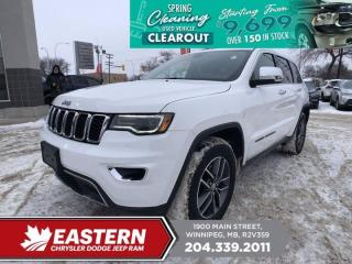 Used 2017 Jeep Grand Cherokee Limited   No Accidents   Pano Sunroof   Backup Cam   for sale in Winnipeg, MB