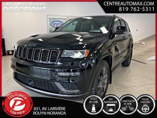 Used 2020 Jeep Grand Cherokee Limited X ( frais vip 395$ non inclus) for sale in Rouyn-Noranda, QC