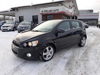 Used 2015 Chevrolet Sonic 5 portes à hayon LT à b. auto. for sale in Sherbrooke, QC