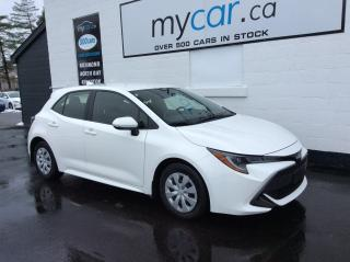 Used 2019 Toyota Corolla Hatchback BACKUP CAM, BLUETOOTH!! for sale in Kingston, ON