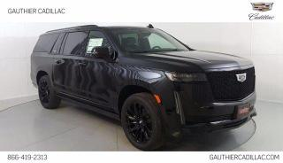 New 2021 Cadillac Escalade ESV Sport for sale in Winnipeg, MB