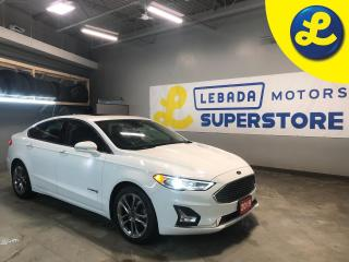 Used 2019 Ford Fusion Hybrid Titanium * Hybrid * Navigation * Leather * Sunroof *Remote Start * Back Up Camera * Apple Car Play * Android Auto * Heated/Cooled Seats * Sony Audio S for sale in Cambridge, ON