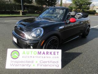 Used 2012 MINI Cooper S S- JOHN COOPER WORKS, LOADED, INSP, WARR, FINANCE, BCAA MEMBERSHIP for sale in Surrey, BC