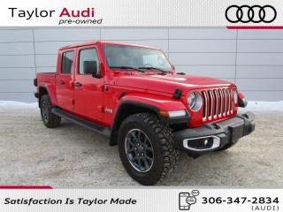 Used 2020 Jeep Gladiator Overland, Heated Leather for sale in Regina, SK