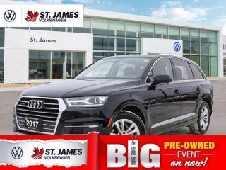 Used 2017 Audi Q7 3.0T Progressiv, Local Vehicle, Apple CarPlay, Heated Seats for sale in Winnipeg, MB
