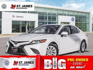 Used 2020 Toyota Camry SE, Clean Carfax, Heated Seats, Backup Camera for sale in Winnipeg, MB